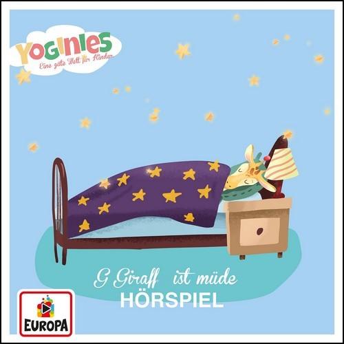 Yoginies - G Giraffe ist müde - Europa 2021
