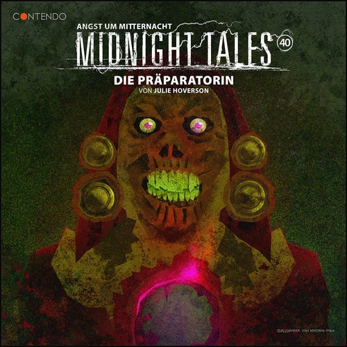 Midnight Tales (40) Die Präparatorin - Contendo Media 2021