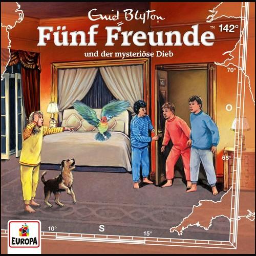 Fünf Freunde (142) und der mysteriöse Dieb - Europa 2021