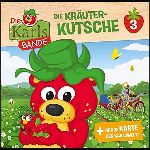 Die Karls Bande (3) Die Kräuter-Kutsche  - Kiddinx 2021