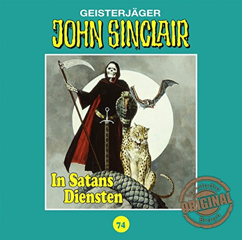John Sinclair (74) In Satans Diensten (Jason Dark) Tonstudio Braun / Lübbe Audio 2018