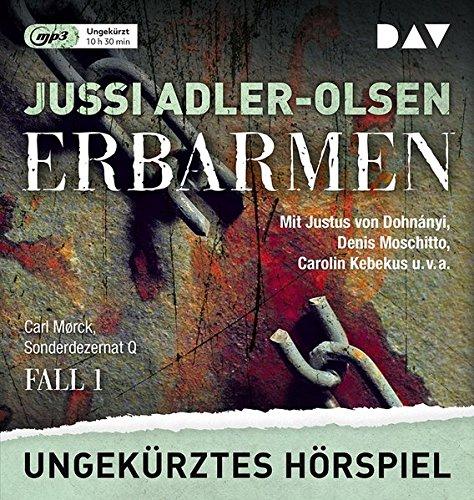 Carl Mork - Sonderdezernat Q (1) Erbarmen (Jussi Adler-Olsen) Audible / DAV 2018
