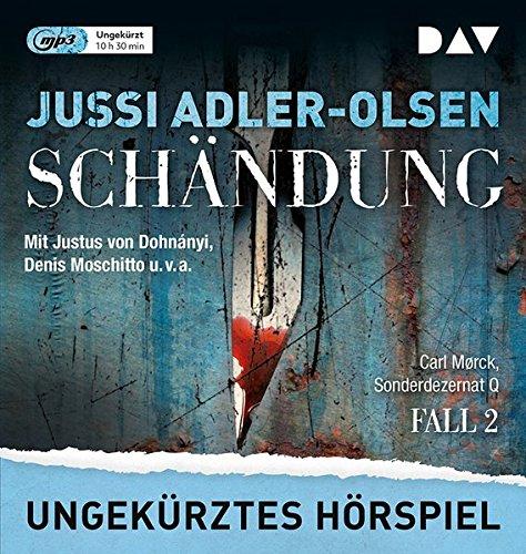 Carl Mork - Sonderdezernat Q (2) Schändung (Jussi Adler-Olsen) Audible / DAV 2018