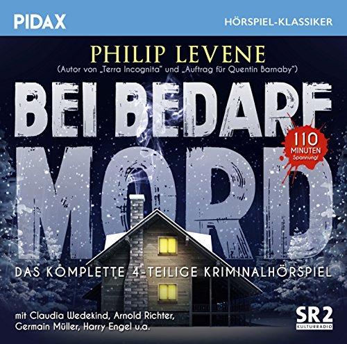 Pidax Hörspiel-Klassiker - Bei Bedarf Mord (Philip Levene) SR 1966 / Pidax 2018