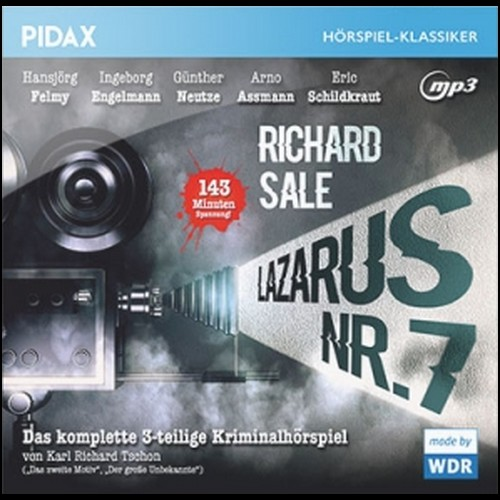 Lazarus Nr. 7 (Richard Sale) WDR 1966 / Pidax 2019