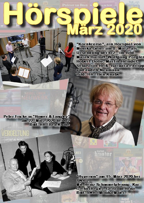 Cover Hörspielheft März 2020