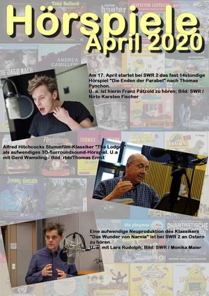 Cover Hörspielheft April 2020