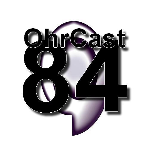 OhrCast 84 Logo