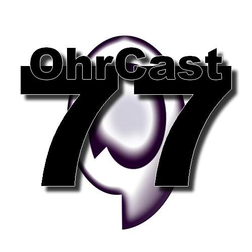 OhrCast 77 Logo